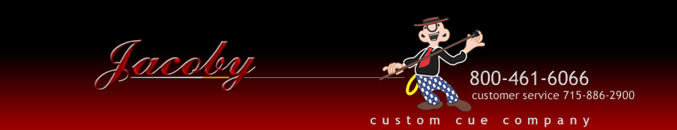 jacobycustomcues logo